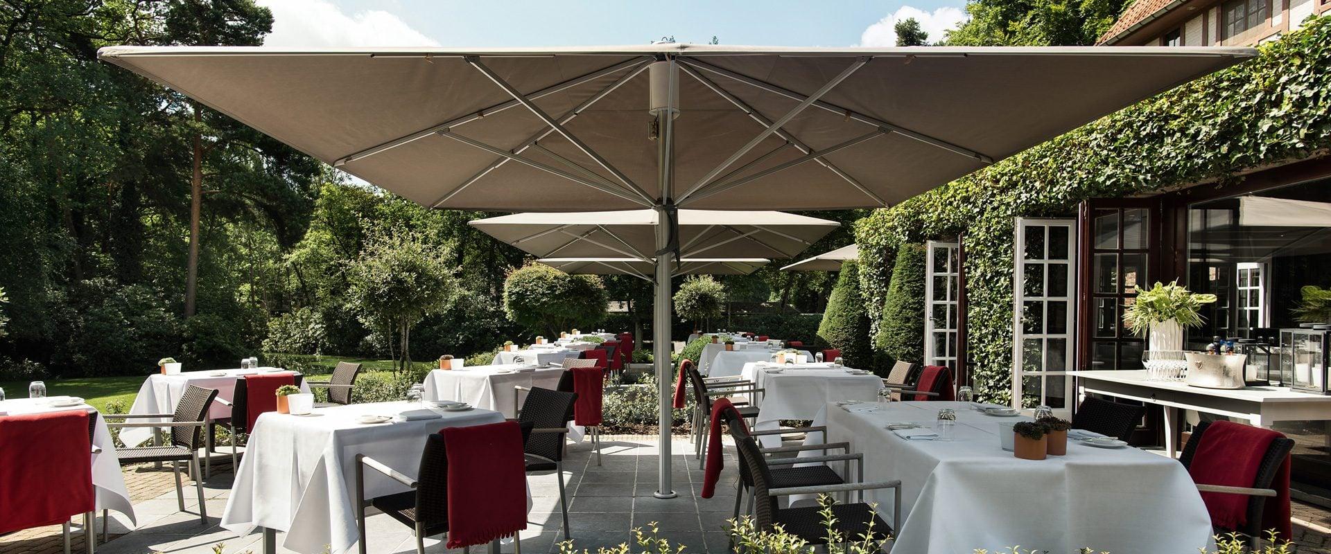 Terrasse Restaurant Ralf Berendsen - Domaine La Butte aux Bois