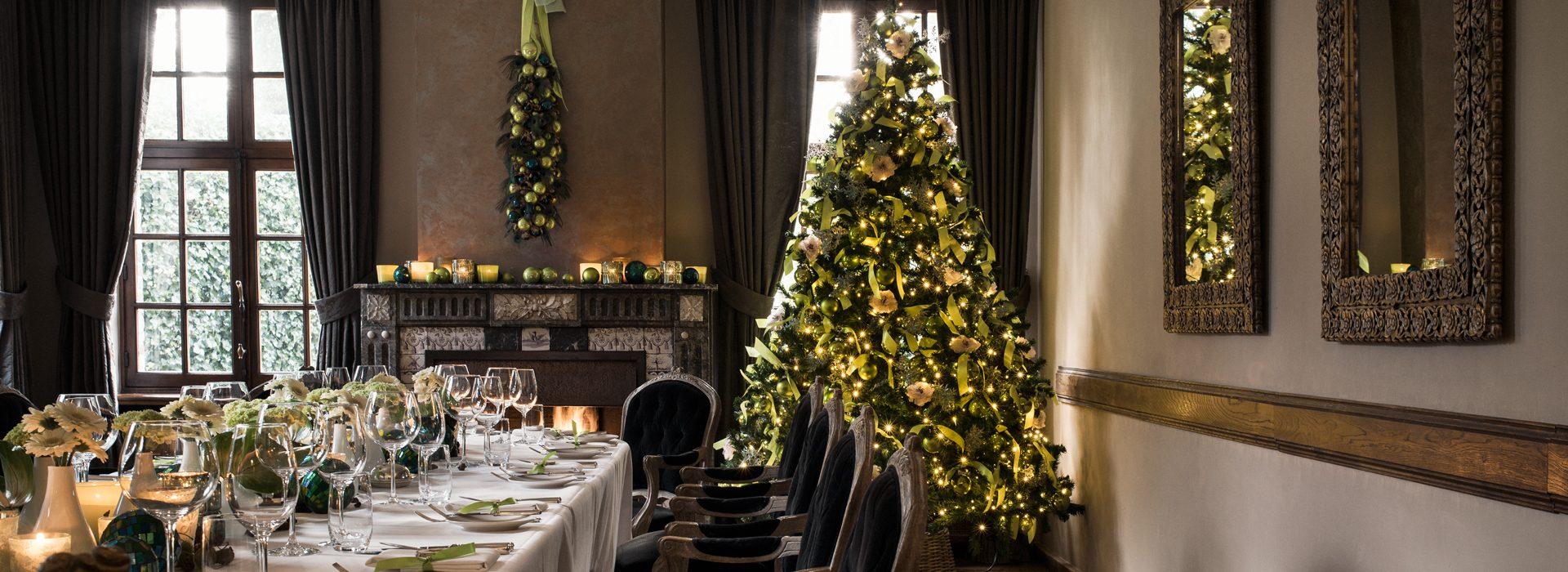Hotelarrangementen Kerstmis & Nieuwjaar - Domaine La Butte aux Bois