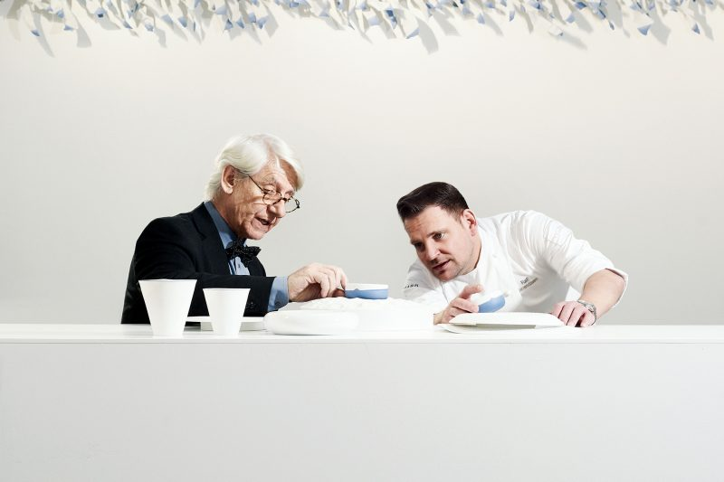 Piet Stockmans' porcelain is an inspiration for Ralf Berendsen