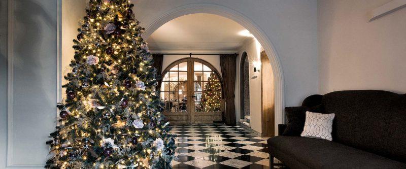 Gourmet Christmas dinner in a Michelin 2-star restaurant