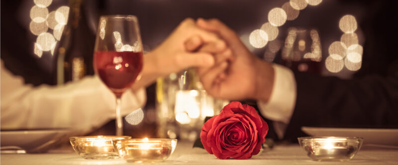 Valentine: Romantic dinner in Le Bistrot