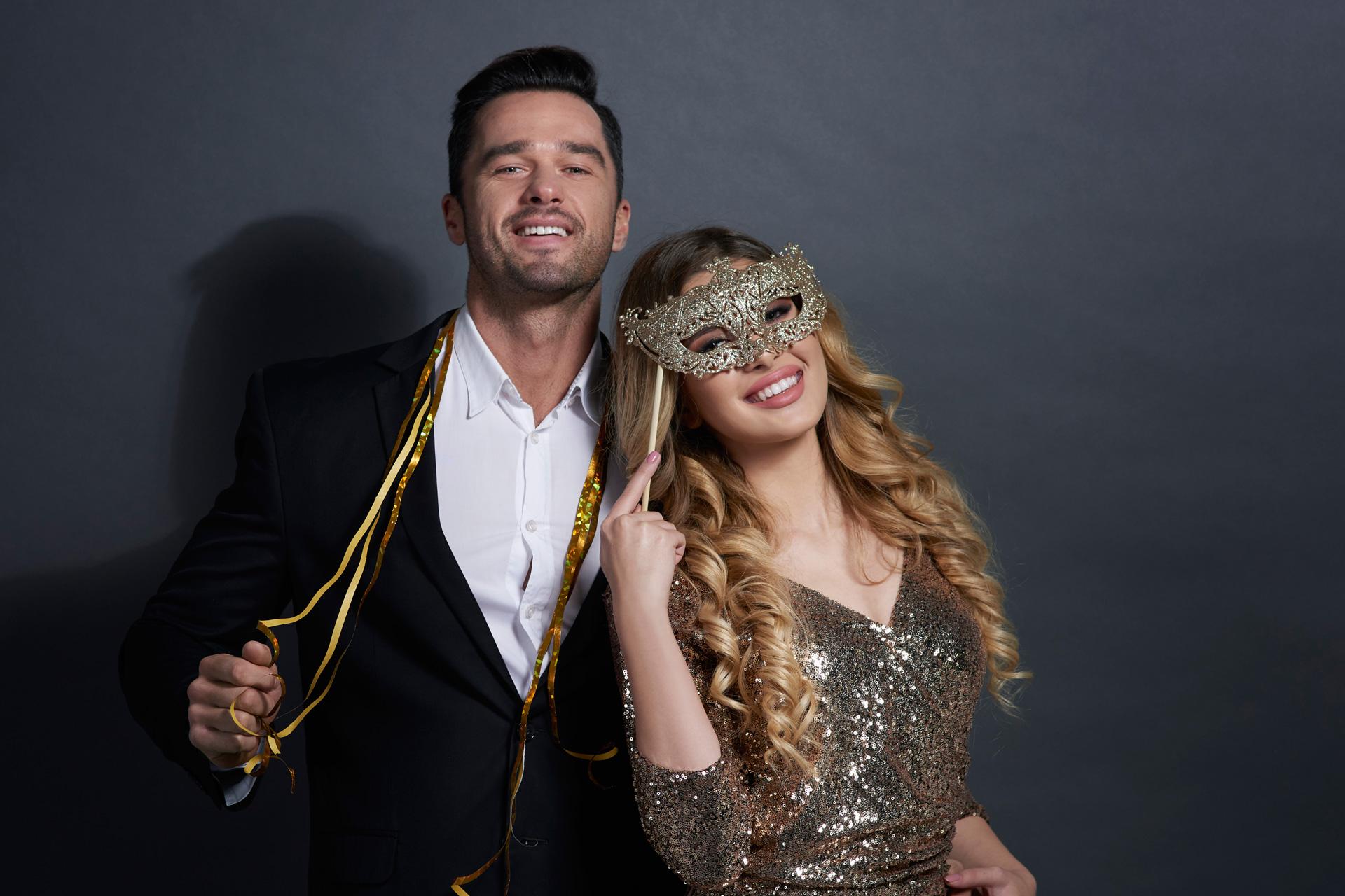 Valentine: Gala: Venetiaans bal masqué - Domaine La Butte aux Bois